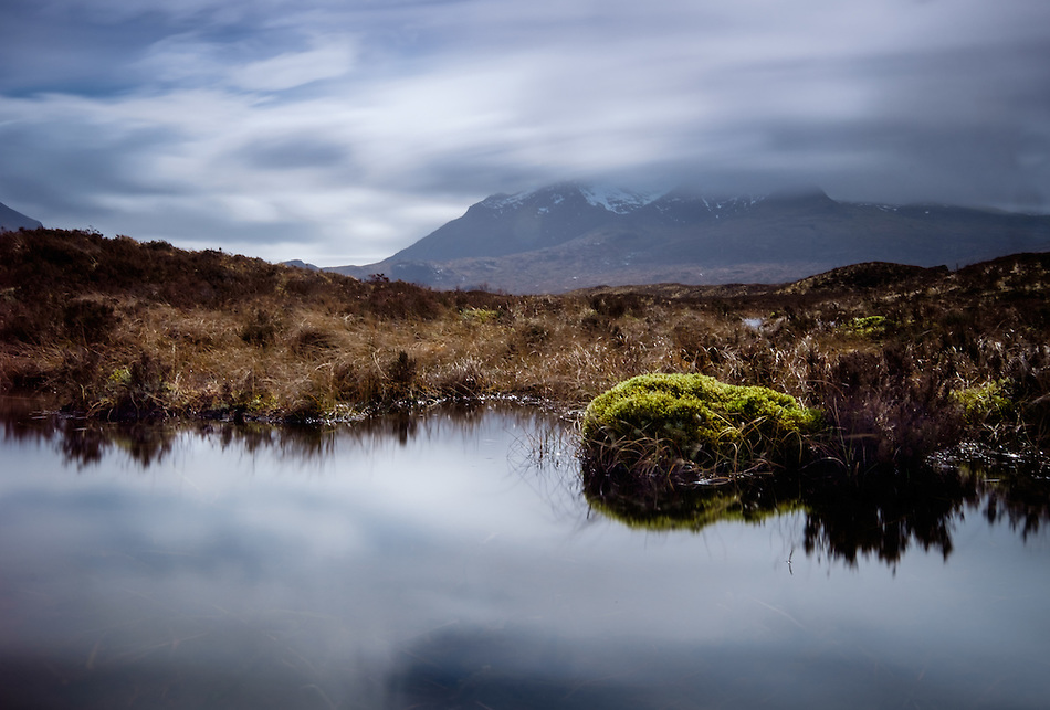SCOTLAND - CIRCA APRIL 2016: Countryside landscape in Skye an Island in Scotland (Daniel Korzeniewski)