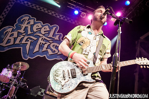 Reel Big Fish Concert @ House Of Blues Los Angeles (Justin Gill)