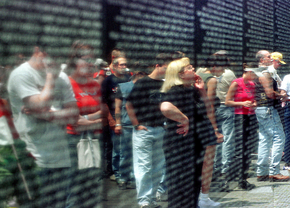 Memorial Day at the Vietnam War Memorial (Pete Marovich)