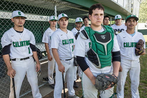The Calistoga High School baseball team (Clark James Mishler)