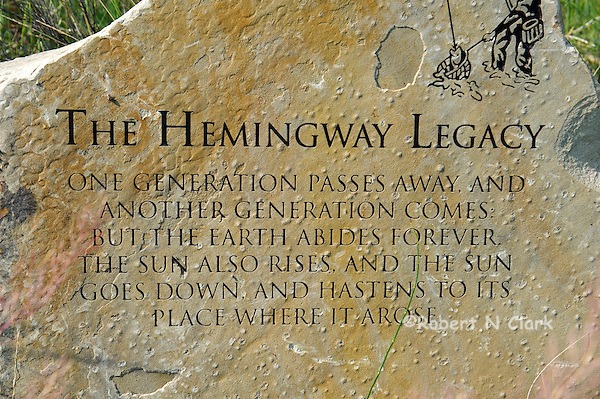 Hemingway Memorial at Silver Creek Preserve (Bob Clark)