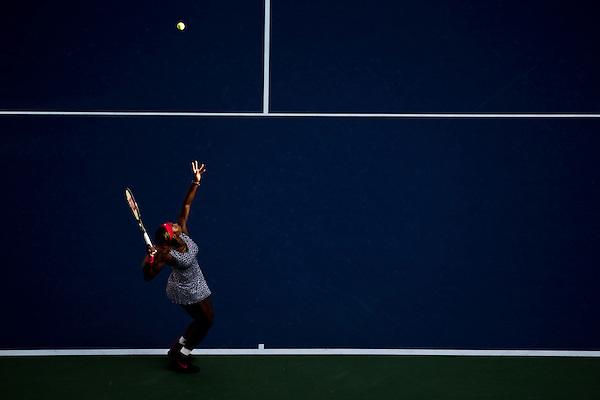 Serena Williams, 2014 U.S. Open Women's Final. Photographed at the Billie Jean King National Tennis Center in Queens, NY, USA 9/7/2014. © 2014 Darren Carroll (Darren Carroll)