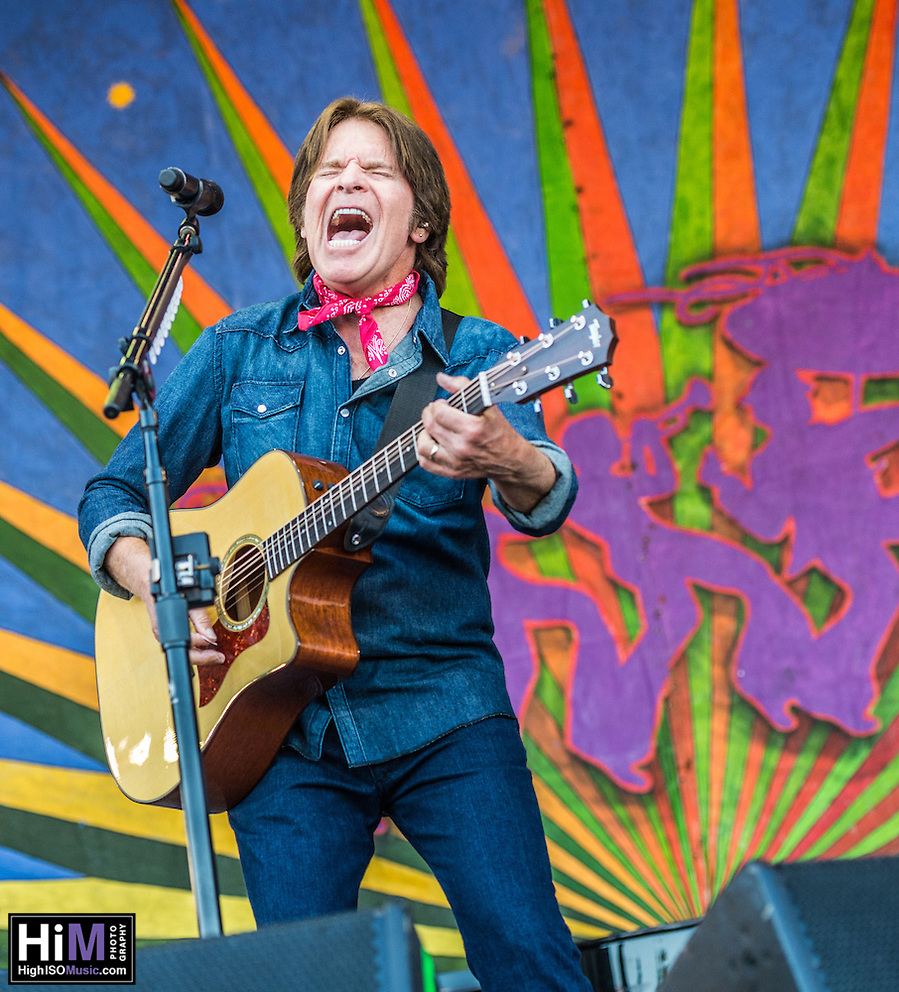 John Fogerty performs at Jazz Fest 2014 in New Orleans, LA on Day 7. (HIGH ISO Music, LLC)