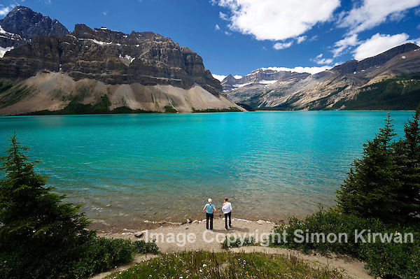 Bow Lake & Mount Thompson, Banff National Park, Alberta, Canada - Travel Photography By Simon Kirwan