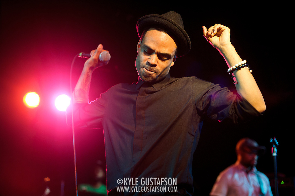 WASHINGTON, DC - March 15th, 2013 -  R&B crooner Bilal performs to a capacity crowd at the Black Cat in Washington, D.C. His latest album, A Love Surreal, was released in late February and recieved high marks from SPIN, USA Today and many more. (Photo by Kyle Gustafson/For The Washington Post) (Kyle Gustafson/For The Washington Post)