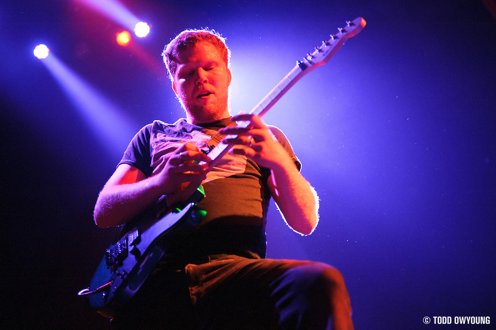 St. Louis locals Killer Me Killer You opening for Evanescence at the Pageant on April 25, 2012. (Todd Owyoung)