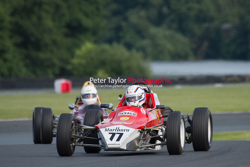 #77 Phil Attwood Crossle 32F 1600  during Lunar Logistics Classic Formula Ford 1600 as part of the BARC National Car and Kart Championships Race Day at Oulton Park, Little Budworth, Cheshire, United Kingdom. July 08 2017. World Copyright Peter Taylor/PSP. Copy of publication required for printed pictures.  Every used picture is fee-liable. http://archive.petertaylor-photographic.co.uk (Peter Taylor/PSP)