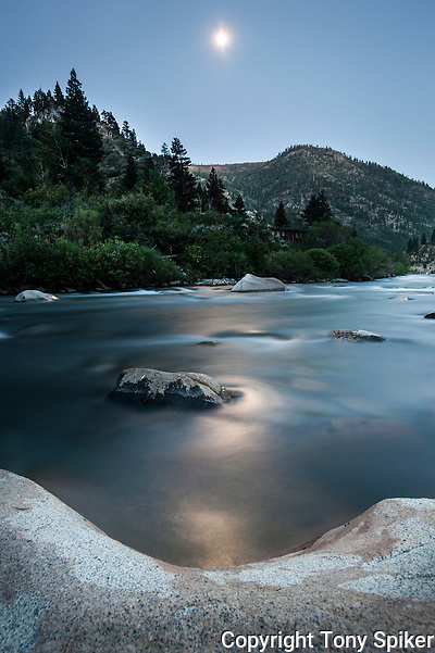 &quot;Moon Over Truckee River 2&quot;