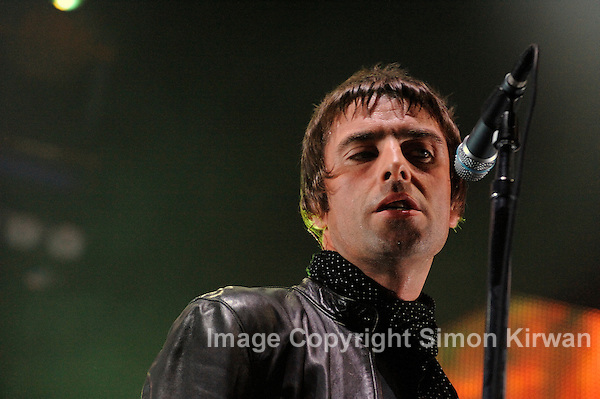 Liam Gallagher - Oasis - Photo By Simon Kirwan