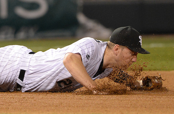 CHICAGO - APRIL 18: Todd Frazier #21 of the Chicago White Sox fields against the Los Angeles Angels on April 18, 2016 at U.S. Cellular Field in Chicago, Illinois. (Photo by Ron Vesely) (Ron Vesely)