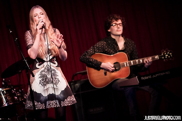 Live concert photo of The Green Children @ Hotel Cafe in Hollywood (Justin Gill)