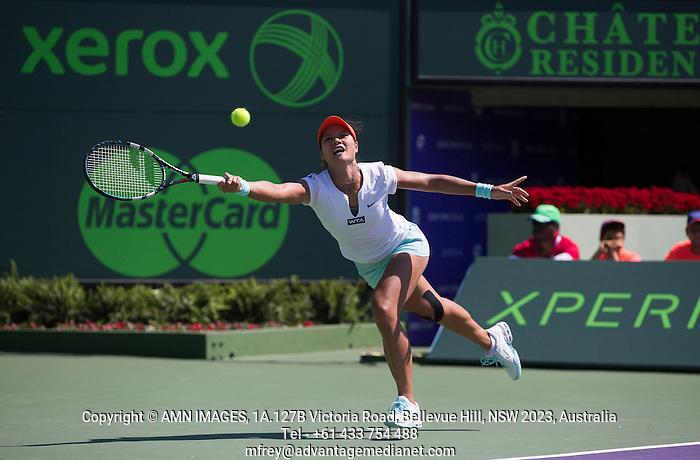 NA LI (CHN) Tennis - Sony Open -  Miami -   ATP-WTA - 2014  - USA  -  23 March 2014.  © AMN IMAGES (FREY/FREY- AMN Images)