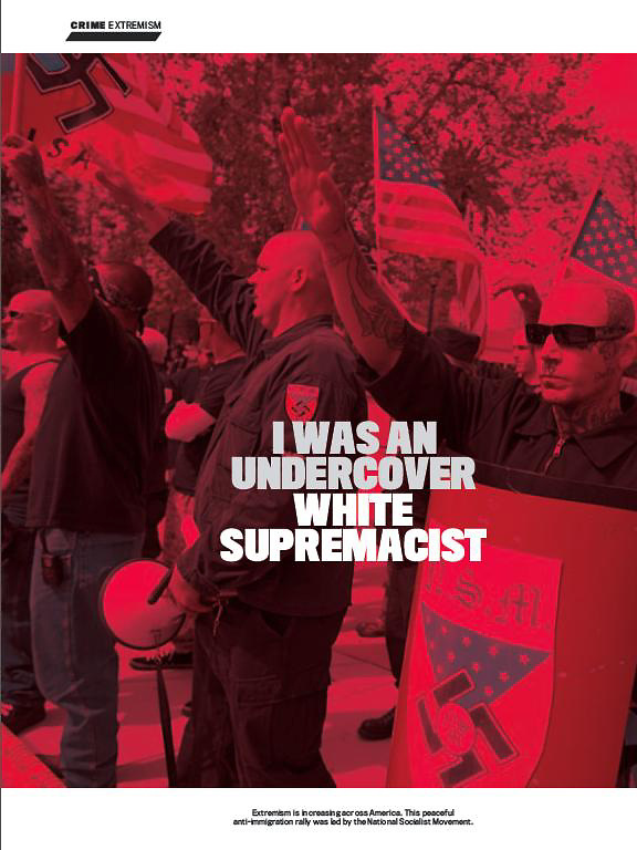My Image in Newsweek: A Look at White Supremacist through FBI Informant