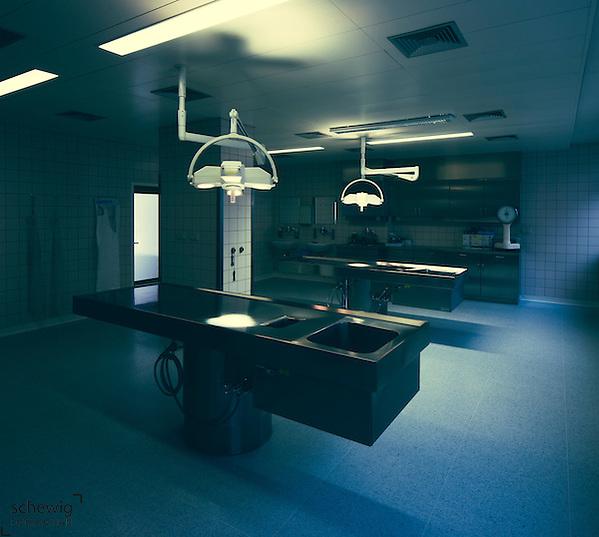 Seziersaal, Krankenhaus, Pathologisches Institut, Österreich, Horn (Dieter Schewig)