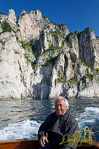 "Alejandro, boat captain, tour guide, Capri, Italy (© Daryl Hunter's ""The Hole Picture""/Daryl L. Hunter)"