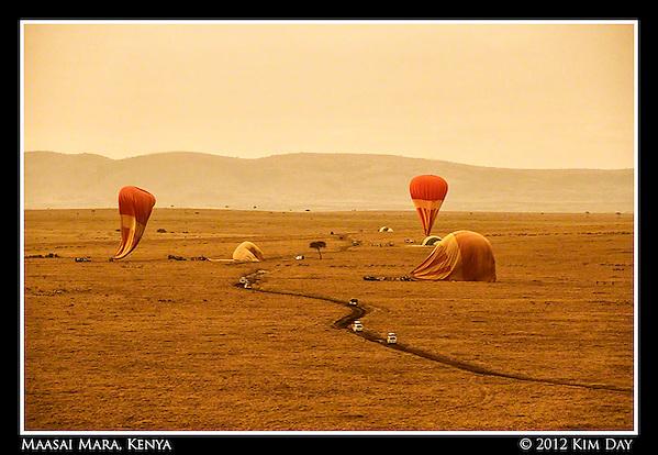 End Of The Ride.Maasai Mara, Kenya.September 2012 (Kim Day)