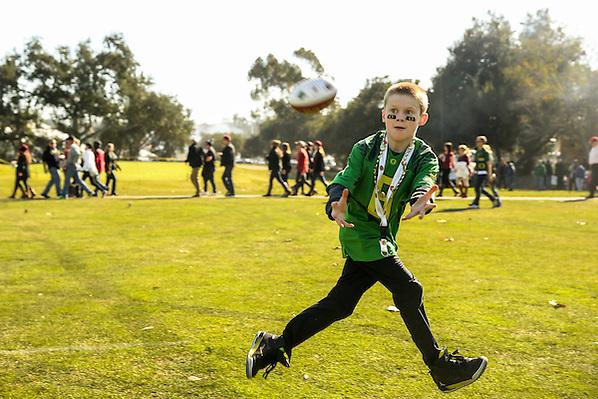 Photographed at the 2015 Rose Bowl Game in Pasadena, California, on January 1, 2015. (Photograph ©2015 Darren Carroll) (Darren Carroll)