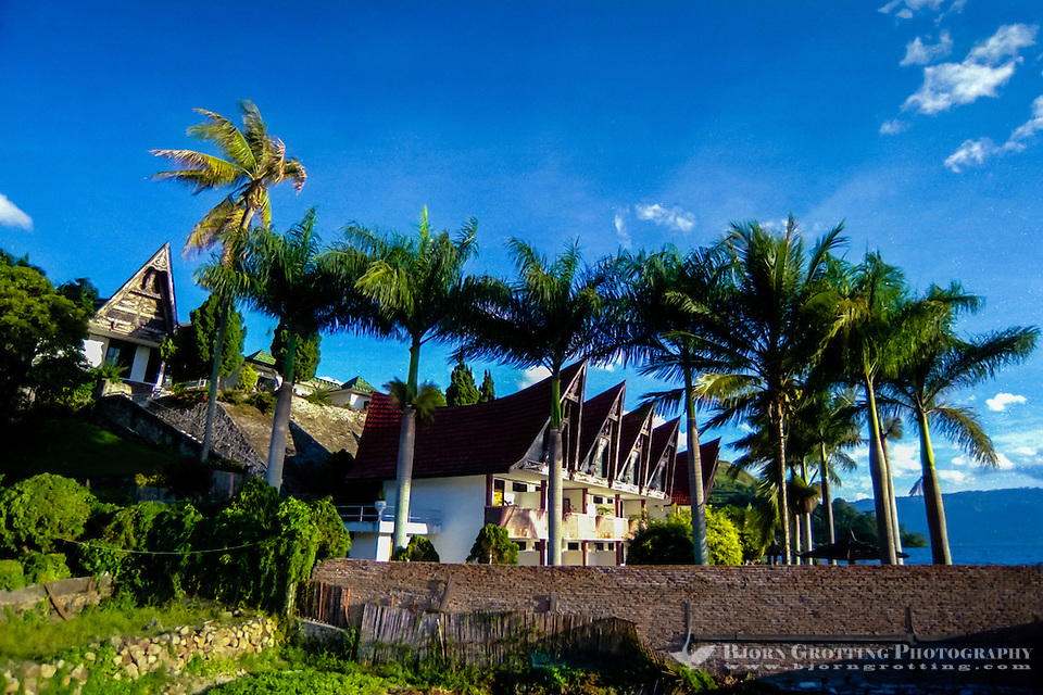 Indonesia, Sumatra. Parapat. Parapat is a popular resort town for Indonesians, especially among rich people from Medan. Westerners normally prefer to head directly to Samosir. (Photo Bjorn Grotting)