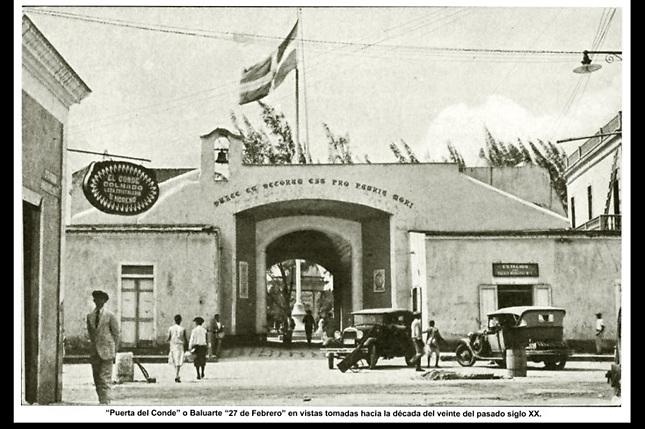 La Puerta del Conde durante la Intervención norteamericana