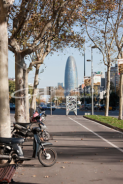 Torre Agbar Barcelona Photography shoot in 2008 by Christopher Holt (Christopher Holt LTD - LondonUK/Christopher Holt LTD)