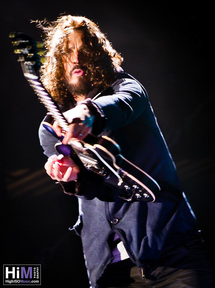 Soundgarden at Voodoo Festival 2011 in New Orleans, LA. (Golden G. Richard III)