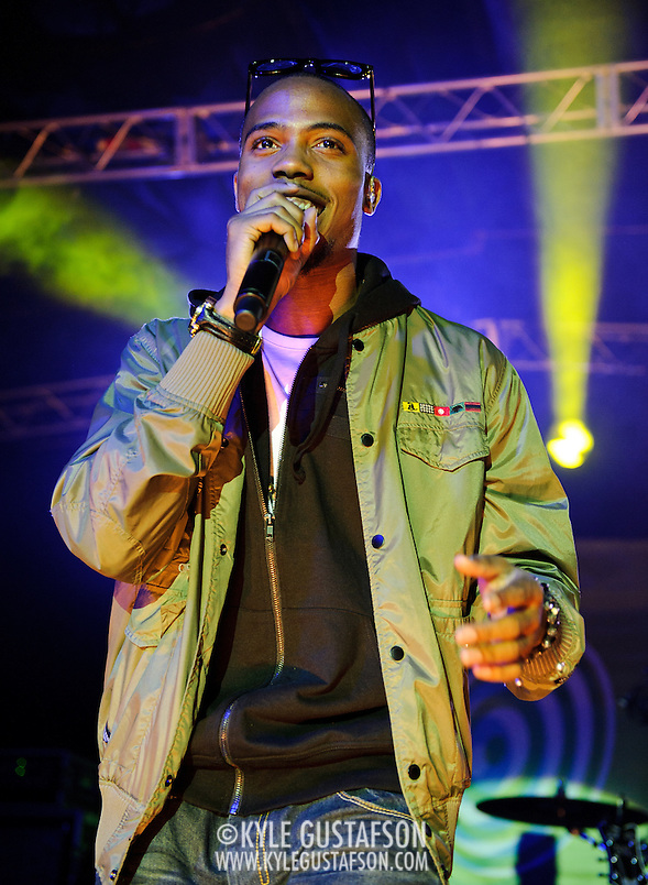 AUSTIN, TX - March 17th: Atlanta rapper B.O.B. performs at the Atlantic Records showcase at La Zona Rosa as part of the 2011 South by Southwest Festival. (Photo by Kyle Gustafson) (Photo by Kyle Gustafson / For The Washington Post)