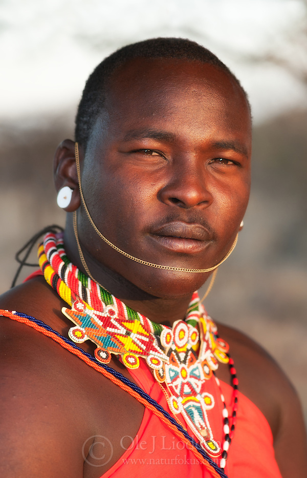 Samburu man from Northern Kenya (Ole Jørgen Liodden)