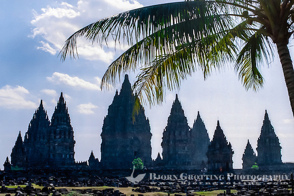 Java, Central Java. Prambanan is a ninth century Hindu temple compound in Central Java, Indonesia, (Bjorn Grotting)