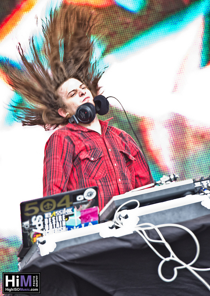 DJ Quickie Mart playing at Voodoo Fest 2011 in New Orleans, LA. (Golden G. Richard III)