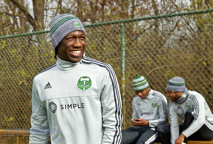 Dec 4, 2015; Columbus, OH, USA; The Timbers prepare for the MLS Cup Final. Photo: Craig Mitchelldyer-Portland Timbers (Craig Mitchelldyer)