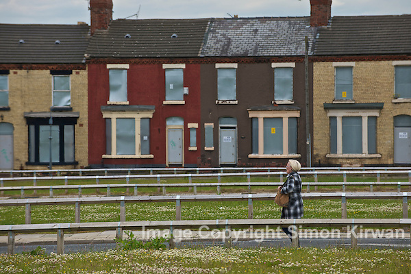 Derelict houses in Liverpool to be sold for £1 - Photo By Simon Kirwan