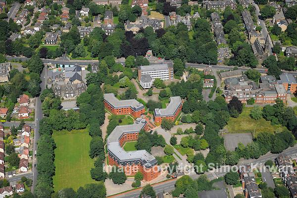 Headingley Business Park Leeds from the Air - Aerial photography by Simon Kirwan