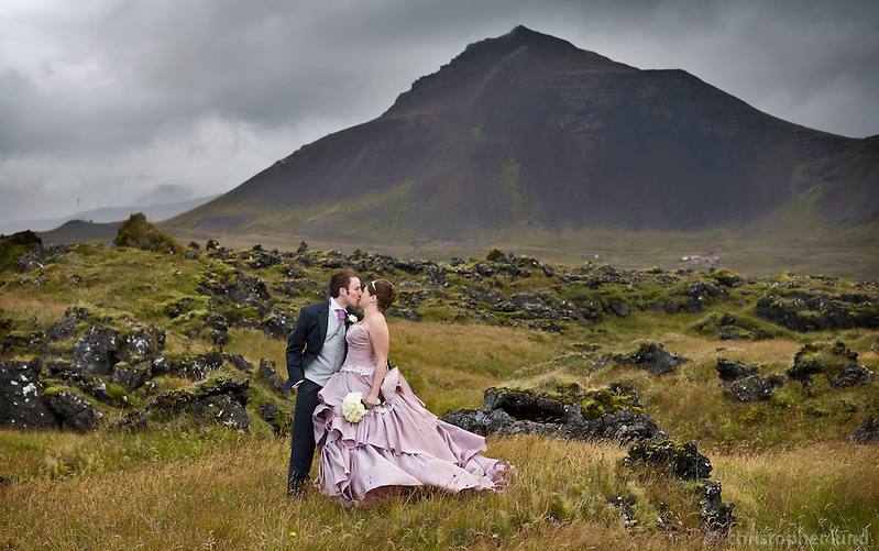 From Rachel and Martin's wedding at Búðir, Iceland. (Christopher Lund/©2007 Christopher lund)