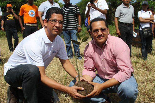 Augusto Ramírez y Daneris Santana