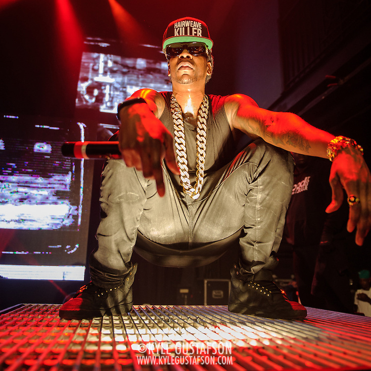 WASHINGTON, DC - March 24, 2014 - 2 Chainz performs at the 9:30 Club in Washington, D.C. (Photo by Kyle Gustafson / www.kylegutafson.com) (Photo by Kyle Gustafson)