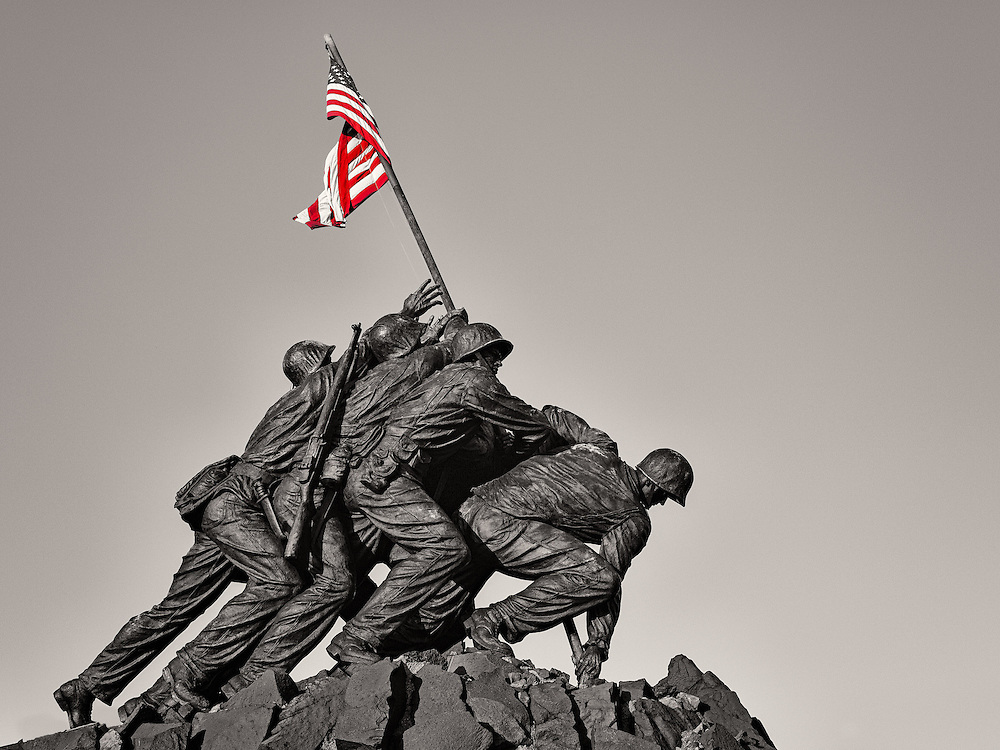 Iwo Jima Memorial in Arlington, Virginia (Doug Oglesby)