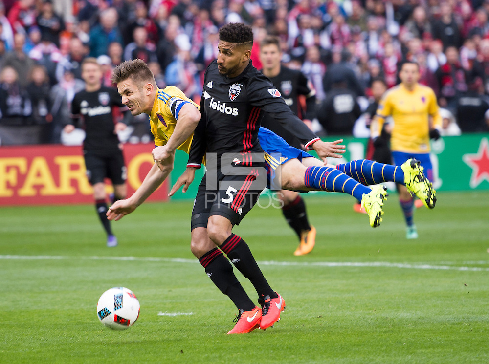 Washington, DC - March 20, 2016: D.C. United tied the Colorado Rapids 1-1 during their Major League Soccer (MLS) match at RFK Stadium. (Brad Smith/isiphotos.com)