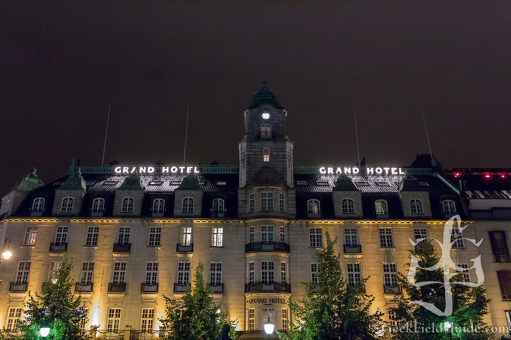 The Grand Hotel, in Oslo, Norway. (Warren Schultz)