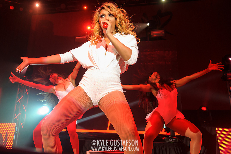 """SILVER SPRING, MD - May 22nd, 2014 - Tamar Braxton performs at the Fillmore Silver Spring in Silver Spring, MD. Braxton's music career has taken off after being featured on WE tv reality show """"Meet The Braxtons,"""" which lead to her own spin-off show """"Tamar & Vince.""""  (Photo by Kyle Gustafson / For The Washington Post) (Kyle Gustafson/For The Washington Post)"""