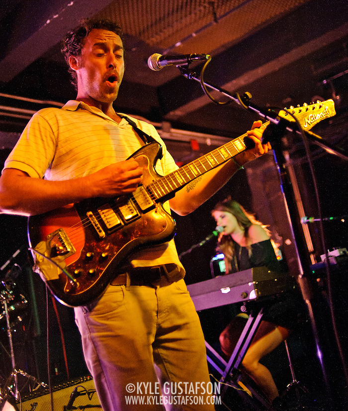Washington, D.C. - August 8th, 2010:  Brooklyn, NY quintet Here We Go Magic perform at the Black Cat. The band is currently touring behind their sophomore album, Pigeons, out now on Secretly Canadian Records.  (Photo by Kyle Gustafson/For The Washington Post) (Photo by Kyle Gustafson/For The Washington Post)
