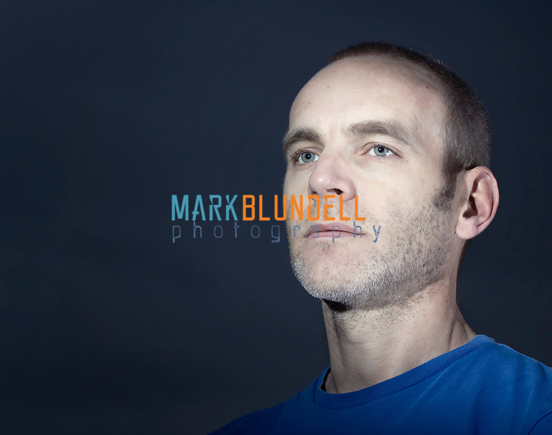 Self portraits taken using two flashes, snoot and softbox (Mark Blundell)