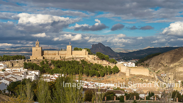 Alcazaba of Antequera, Malaga, Andalusia, Spain. Photo By Simon Kirwan