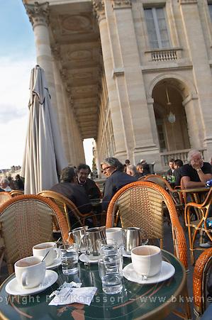 Coffee on a sidewalk cafe, Bordeaux