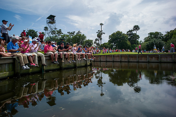 General view of the 4th green. PGA Golf: 2014 The Players Championship Sunday round 4 TPC Sawgrass/Ponte Vedra, FL 5/11/2014 X158187 TK4 Credit: Darren Carroll (Darren Carroll/Sports Illustrated)