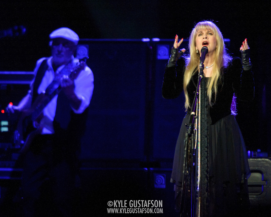"WASHINGTON, DC - April 9th  2013 -  Stevie Nicks of Fleetwood Mac performs at the Verizon Center in Washington, D.C. during the band's 2013 World Tour. Fleetwood Mac, touring for the first time since 2009, is including two new songs in their setlist, ""Sad Angel"" and ""Without You."" (Photo by Kyle Gustafson/For The Washington Post) (Kyle Gustafson/For The Washington Post)"