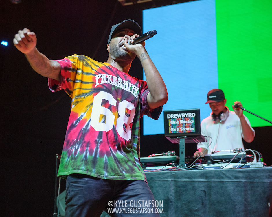 COLUMBIA, MD - August 30th, 2015 - Dom Kennedy performs at the 2015 Trillectro Festival at Merriweather Post Pavilion in Columbia, MD (Photo by Kyle Gustafson / For The Washington Post) (Kyle Gustafson/For The Washington Post)