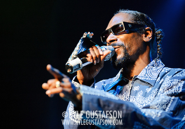 Columbia, MD - August 30th, 2010:  Billed as performing his debut album Doggy Style in its entirety, Snoop instead played a shortened 45 minute set that drew from all points of his career. (Photo by Kyle Gustafson/For The Washington Post) (Photo by Kyle Gustafson/For The Washington Post)