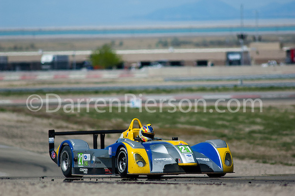 #21 Comprent Motorsports Cooper Tires Prototype Lite: Charlie Shears (Darren Pierson)