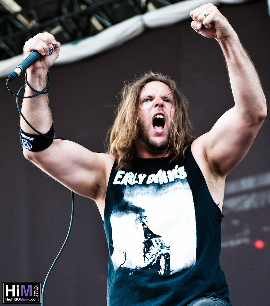 Unearth performing at Heavy MTL 2011 in Montreal, QC. (Golden G. Richard III)