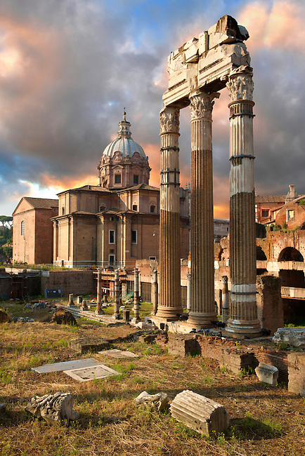 The Temple of Castor and Pollux, The Forum Rome (Paul Williams)